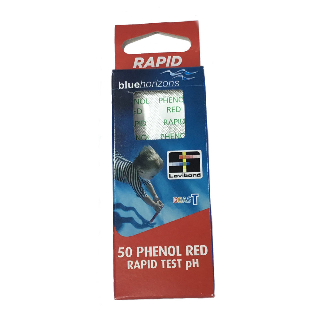 Phenol Red Rapid Test Tablets