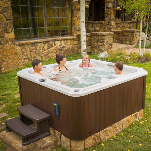 jacuzzi j235 hot tub outdoor living. Black Bedroom Furniture Sets. Home Design Ideas
