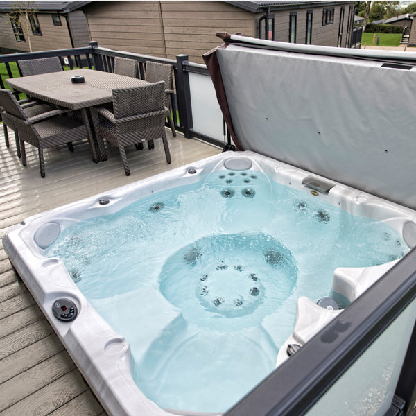 buy jacuzzi 39 s j245 hot tub at outdoor living from 6799. Black Bedroom Furniture Sets. Home Design Ideas