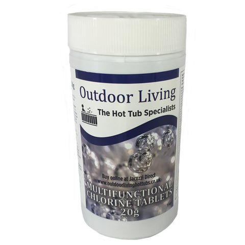 Hot Tub Chlorine Tablets (1kg) | Outdoor Living