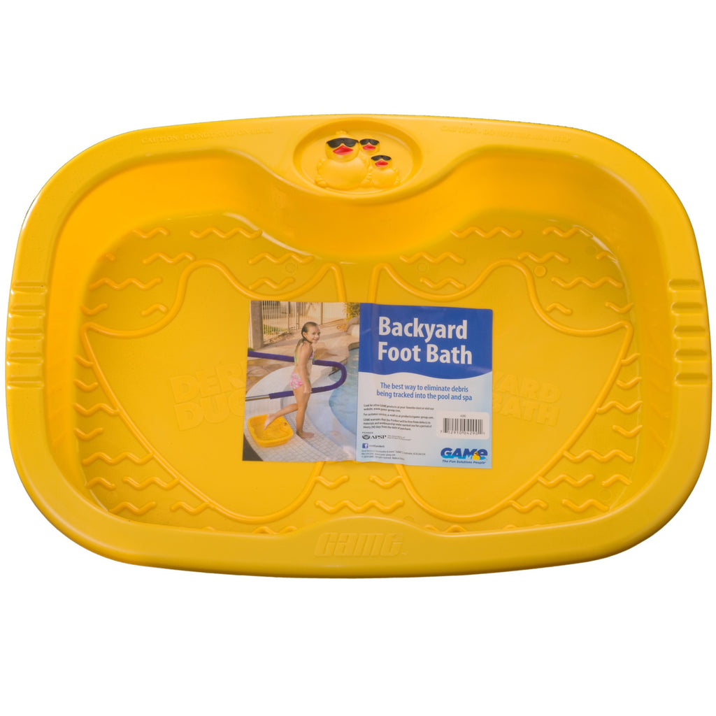 Hot Tub and Pool Foot Bath (Yellow)