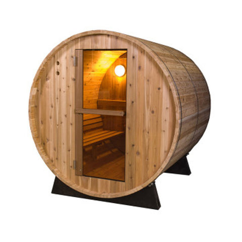 Deluxe Barrel Sauna 6ft