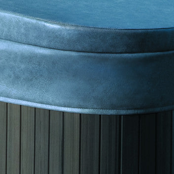 Coastal grey hot tub cover