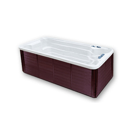 Tidalfit EP12 Swim Spa from Outdoor Living - white, mahogany case