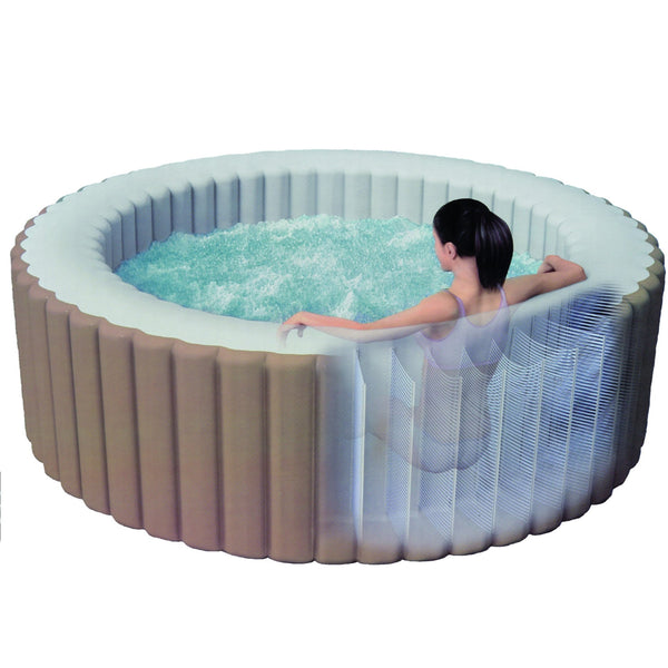 intex purespa bubble inflatable hot tub jacuzzi direct. Black Bedroom Furniture Sets. Home Design Ideas