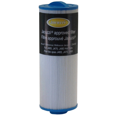 Jacuzzi® J465/ 470/ 480 to 2012 Small Filter. Part No.2540-387