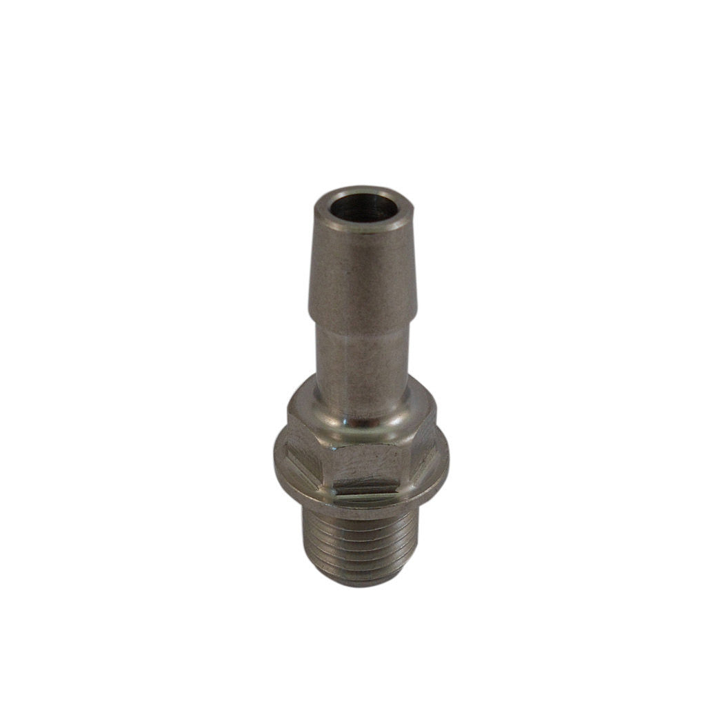 Jacuzzi® Hot Tub Pump Barb (Stainless Steel). Part No.6540-171