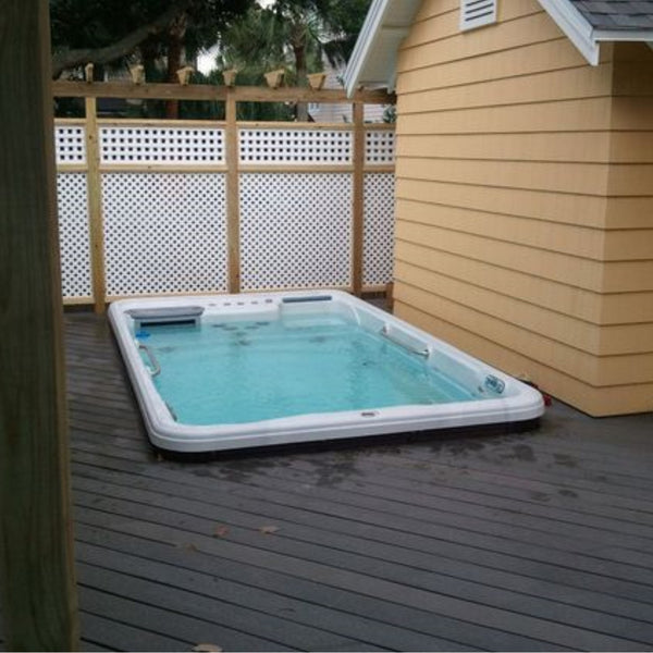 Tidalfit Ep12 Family Swim Spa At Outdoor Living Hot Tubs