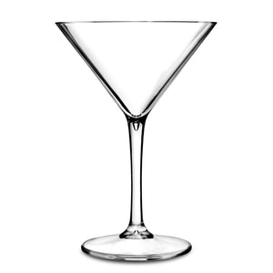 Martini Glass - Plastic & Dishwasher Safe