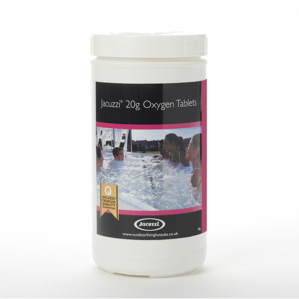 Jacuzzi® 20g Hot Tub Oxygen Tablets 1kg