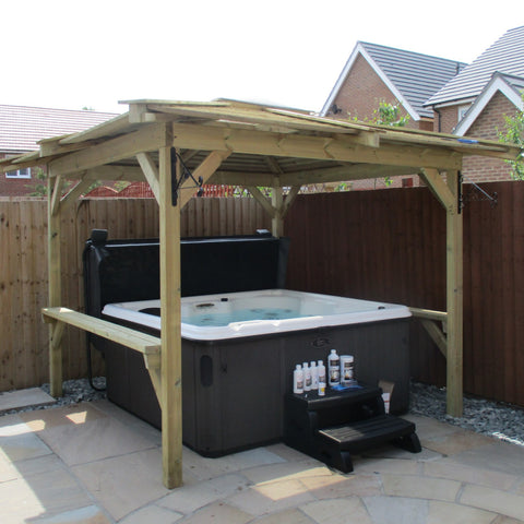 Outdoor Retreat Hot Tub