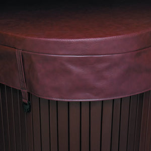 Sable brown hot tub cover