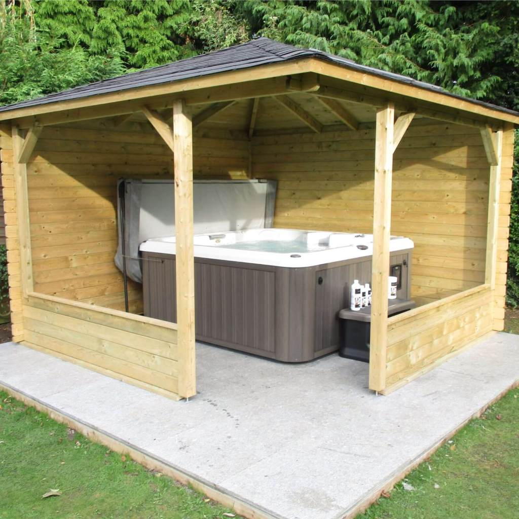 Jacuzzi outdoor  Hot Tubs, Jacuzzis & Spa chemical store at Outdoor Living