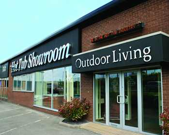 Outdoor Living Hull showroom exterior