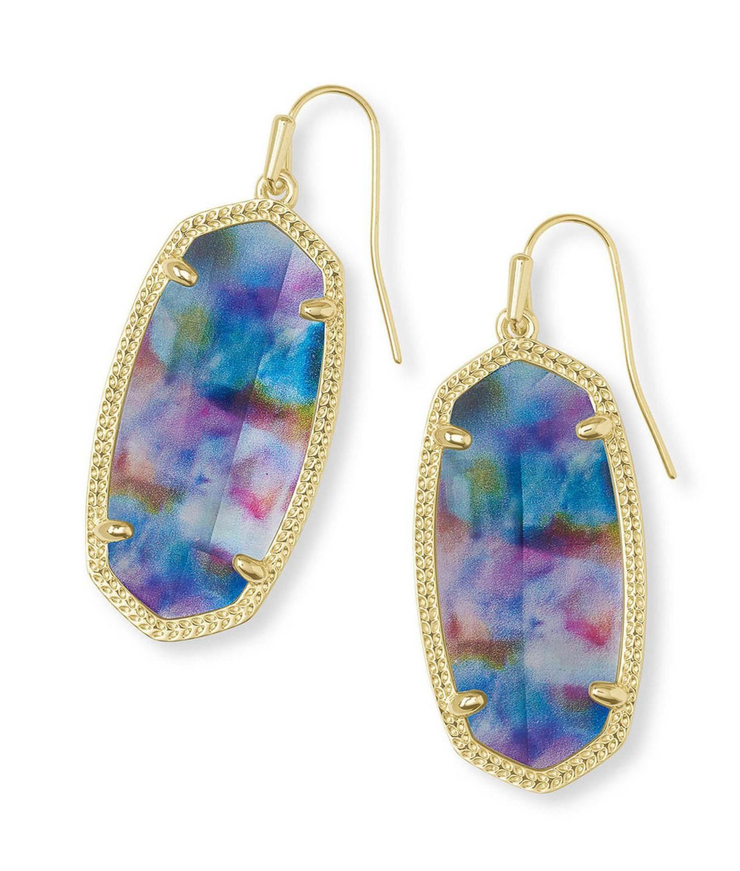 Kendra Scott Elle Tie Dye Illusion Earrings
