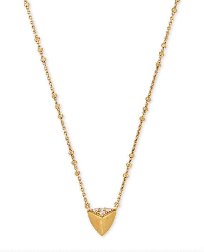 Kendra Scott Perry Vintage Gold Necklace