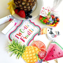 Load image into Gallery viewer, Printable Twotti Fruitti Birthday Party Kit for a Tutti Fruity Party Theme