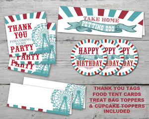 Printable County Fair Party Kit for a County Fair Birthday Party
