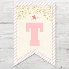 Load image into Gallery viewer, Printable Twinkle Twinkle Little Star Birthday Pendant Banner