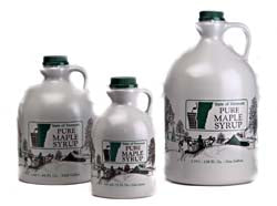 100% Pure Vermont Maple Syrup