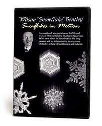 Wilson Bentley Snowflakes in Motion DVD