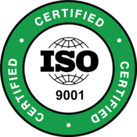 ISO 9001 certified icon