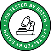 Lab tested by batch icon