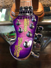 Load image into Gallery viewer, Ernie Ball Music Man Steve Morse Y2D Tremolo - Purple Sunset Quilt