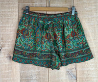 Short Seda Estampado