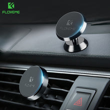 Load image into Gallery viewer, FLOVEME Magnetic Car Phone Holder for iPhone XS MAX Xiaomi Magnet Mount Car Holder for Phone in Car 2 Style Mobile Phone Holders