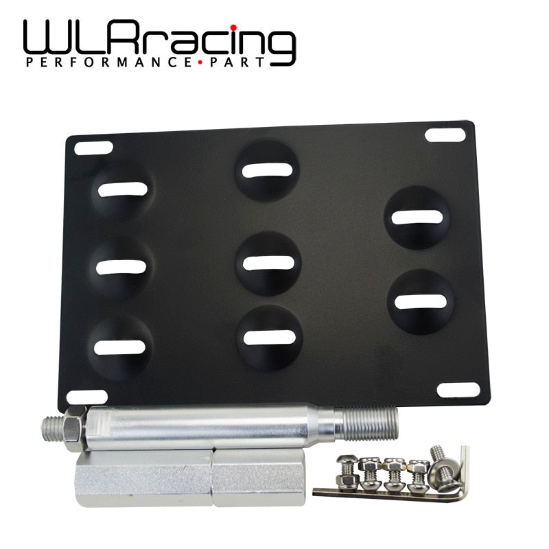 WLR RACING - LICENSE PLATE HOLDER MOUNT TOW HOOK BRACKET LICENSE PLATE RELOCATOR FRAME BRACKET FOR SUBARU BRZ 2013+ WLR116