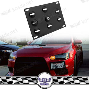 Car Tow Hook License Plate Mount Bracket Racing Number Plate For Japan Type Euro Type Subarru BM W F BM W E EVO