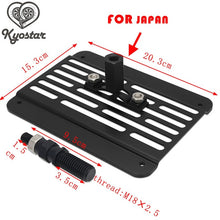 Load image into Gallery viewer, license plate Mount relocator front tow hook For BMW golf Japan E F Audi Subaru EVO Mitsubishi YARIS Euro Type Brand