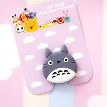 Load image into Gallery viewer, wholesale pop Universal mobile phone stretch bracket Cartoon air bag Phone Expanding phone Stand Finger car phone Holder