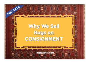Why We Sell Rugs on Consignment