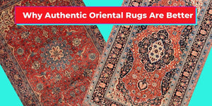 Authentic Oriental Rugs vs Machine-Made Area Rugs