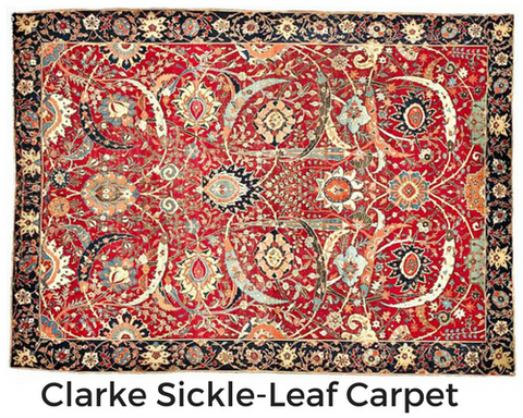 Persian Rug Toronto-Oriental Carpet Sold at Auction for US$33,750,000. Clarke Sickle-Leaf Carpet