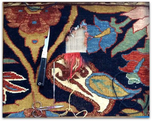 Oriental and Area Rug Repairs-Area Rug Cleaning Stratford Ontario