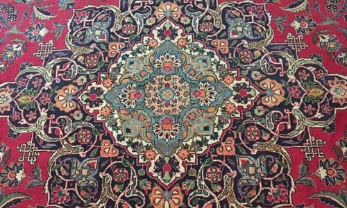 The Secret Life of Persian Rugs-Kashan Medallion