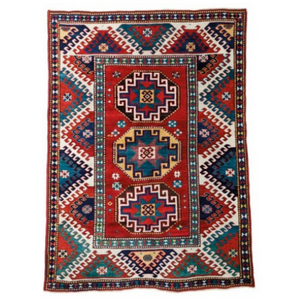 Caucasian Rug Kazak 4' x 6' Rug District Oriental Rug Experts Toronto