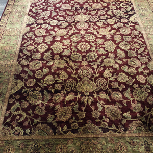 Indian Rug Sarouk 8' x 10' Rug District Oriental Rug Experts Toronto