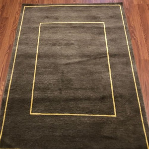 "Nepal Rug Sahara 3'10"" x 5'4""-The Rug District"