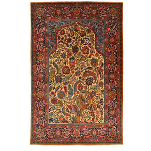 Persian Rugs Antique Kashan-Rug District Oriental Rug Experts Toronto