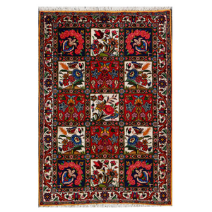 Persian Rug Bahktiari-Rug District Oriental Rug Experts Toronto