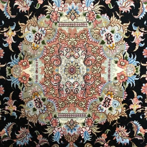 Persian Rug Tabriz 5' x 6'7'-Wool & Silk-Rug District