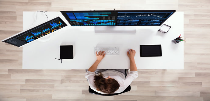 Twin Ryzer – Dual Monitor Computer Desk
