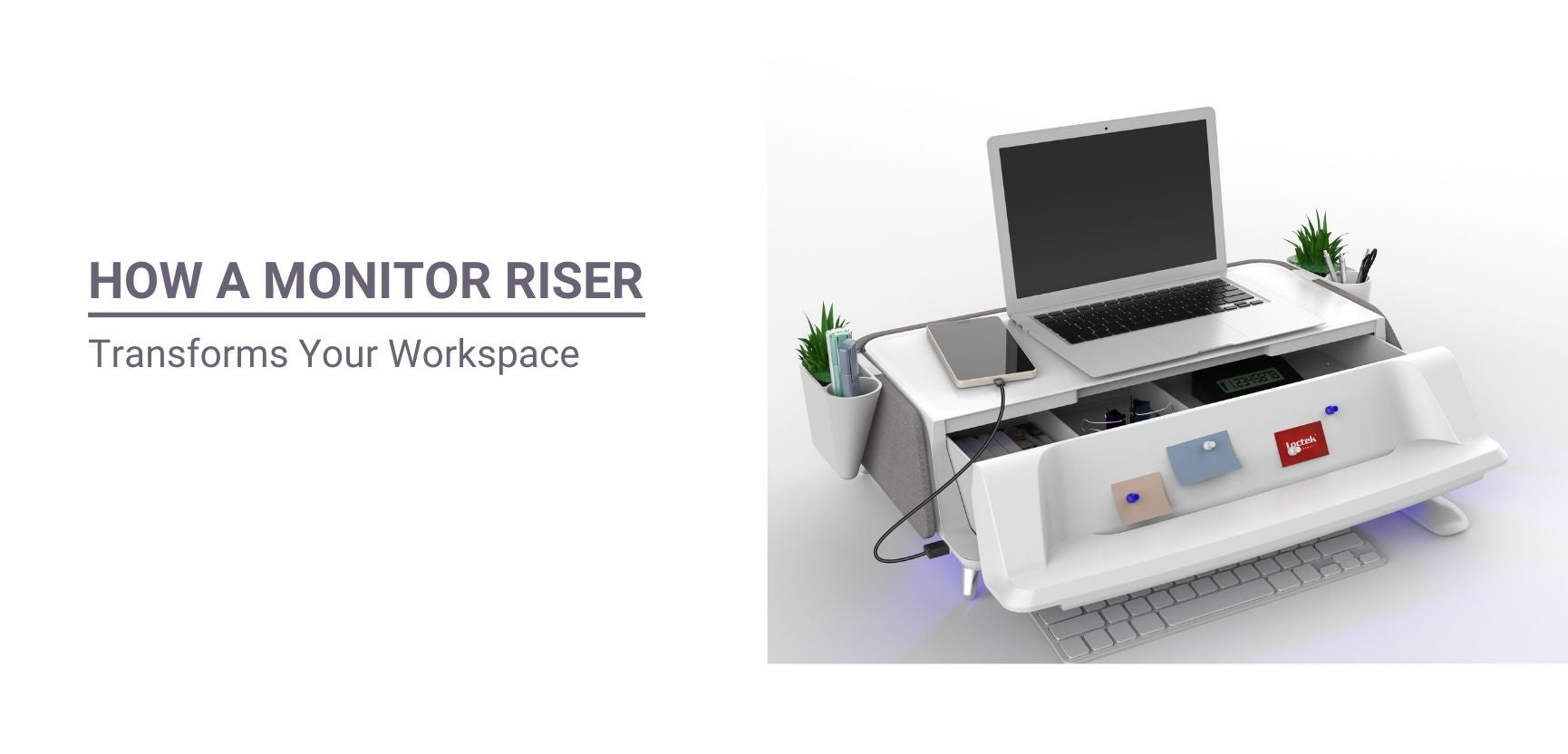 How a Monitor Riser Transforms Your Workspace