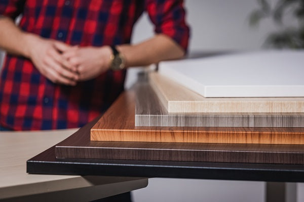 MDF and eco-friendly bamboo tabletop materials