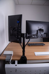 Two monitor stand