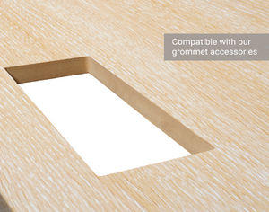 "Tabletop - 60"" x 30"" - Maple Woodline"